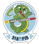 318th FIS Decal