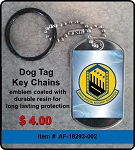 3906th Special Security Sqd. Key Chain