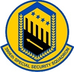 3906th Special Security Sqd.  Decal