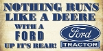 Ford vs. Deere Decal