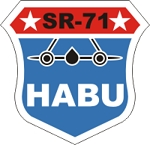 SR-71 HABU Decal
