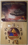 1st Armored Division Clock