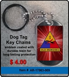 1st Armored Division Key Chain
