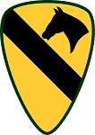 1st Cavalry Division Decal