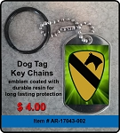 1st Cavalry Division Key Chain