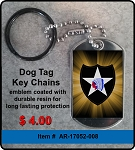 2nd Infantry Division Key Chain