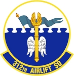 312th Airlift Squadron Decal