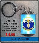 312th Airlift Squadron Key Chain