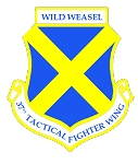 37th TFW - Wild Weasel Decal