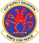410th Supply Squadron Magnet