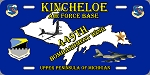 449th BMW / Kincheloe AFB  License Plate