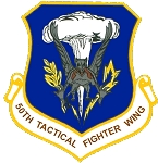 50th TFW Decal