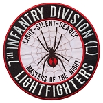 7th Infantry Division (LF) Vinyl Decal