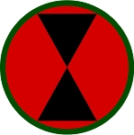 7th Infantry Division Magnet