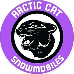 Vintage Arctic Cat Decal
