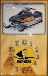 1980 Ski Doo Blizzard 7500 Clock