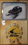 1983 Ski Doo 9700 Blizzard Clock