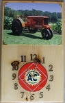 Allis Chalmers WC (Unstyled) Clock