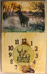 Whitetail Deer (Big Buck) Clock