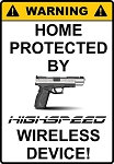 Highspeed Wireless Decal