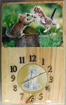 Playing Kitten Clock