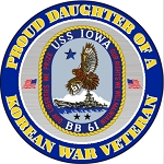 Korean War Vet (daughter) Magnet