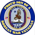 Korean War Vet (son) Decal
