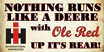 Ole Red Decal