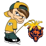 Packer boy (Bear) Decal