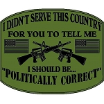 Politically Correct Decal