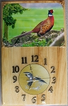 Ring Neck Pheasant Clock