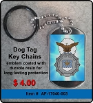 USAF Security Police Key Chain