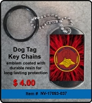 USS Abraham Lincoln CVN-72 Key Chain