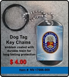 USS New Jersey (BB-62)  Key Chain