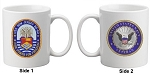 USS New Jersey (BB-62) Veteran Mug