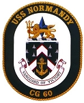 USS Normandy CG-60 Decal