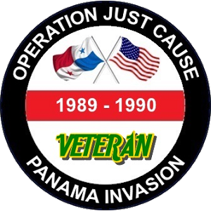 Operation Just Cause - Panama Invasion Decal